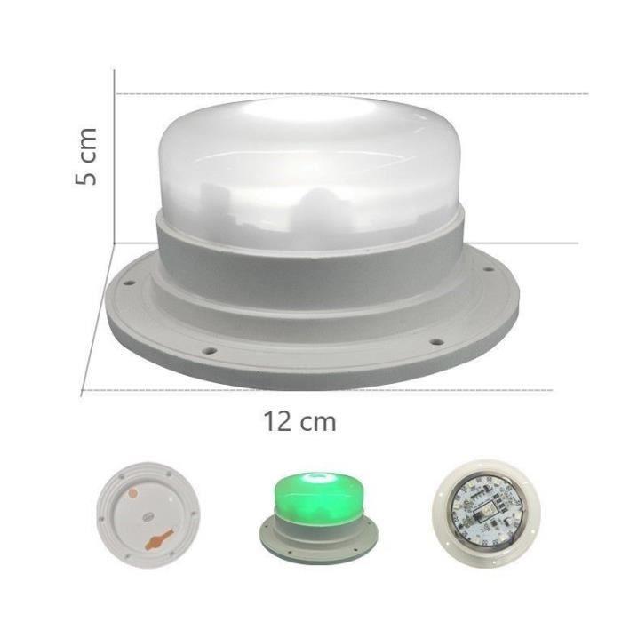 Kit de remplacement pour vase extérieur rechargeable RGBW
