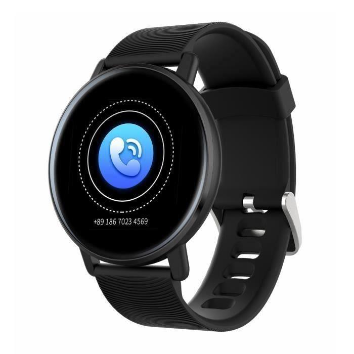 H5 Montre Connectée Noir Surveillance De Santé-Montre Intelligente Multi-fonctions-Smartwatch Homme Femme Cadeau Fête