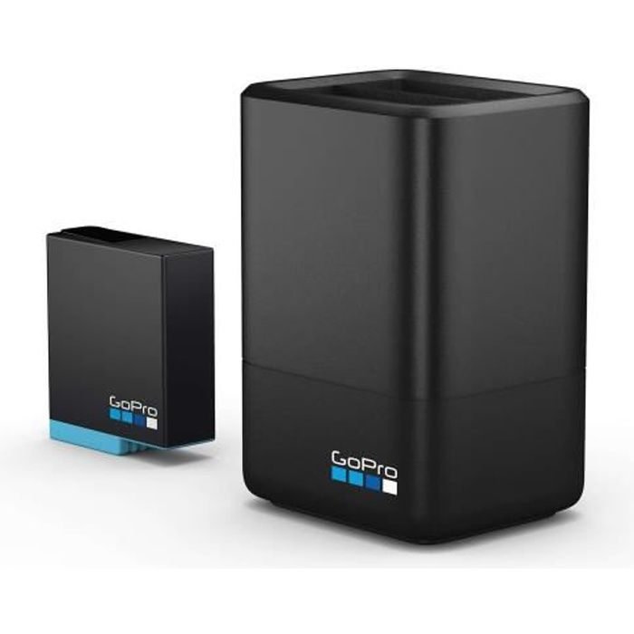 Chargeur Double + Batterie GoPro Hero8/7/6 Black