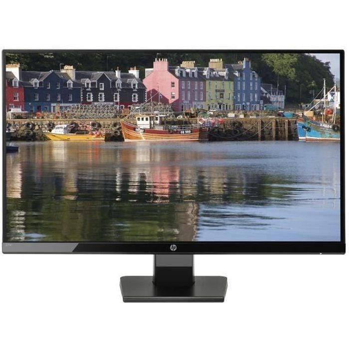 Ecran HP 27w - Dalle IPS - 27''- 5ms - VGA/HDMI - Full HD - Rétroéclairage LED -