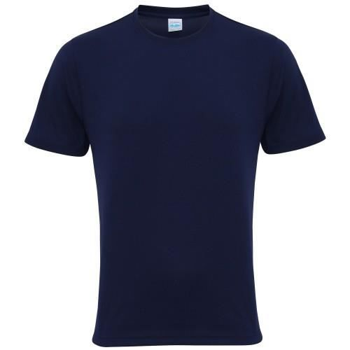 T-shirt performance uni Just Cool - Homme Bleu ...