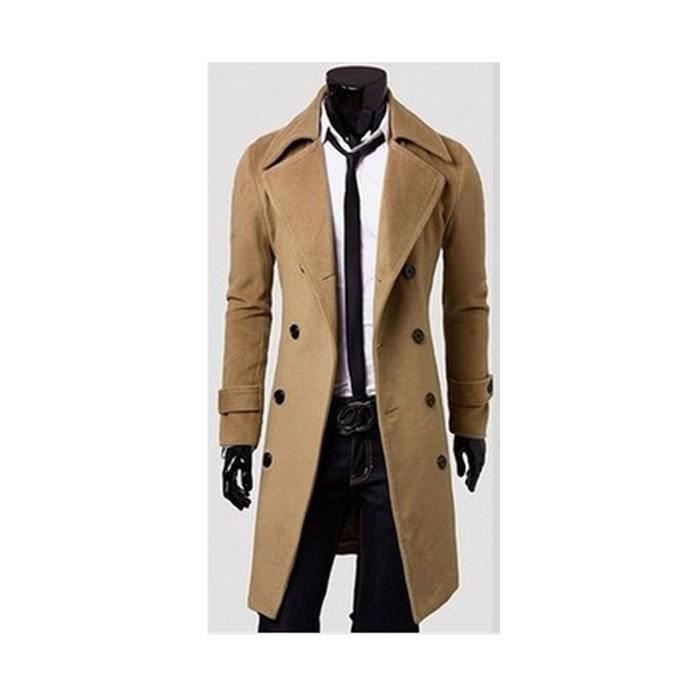Trench homme Coupe-vent Jaune ZX-NSZ3008