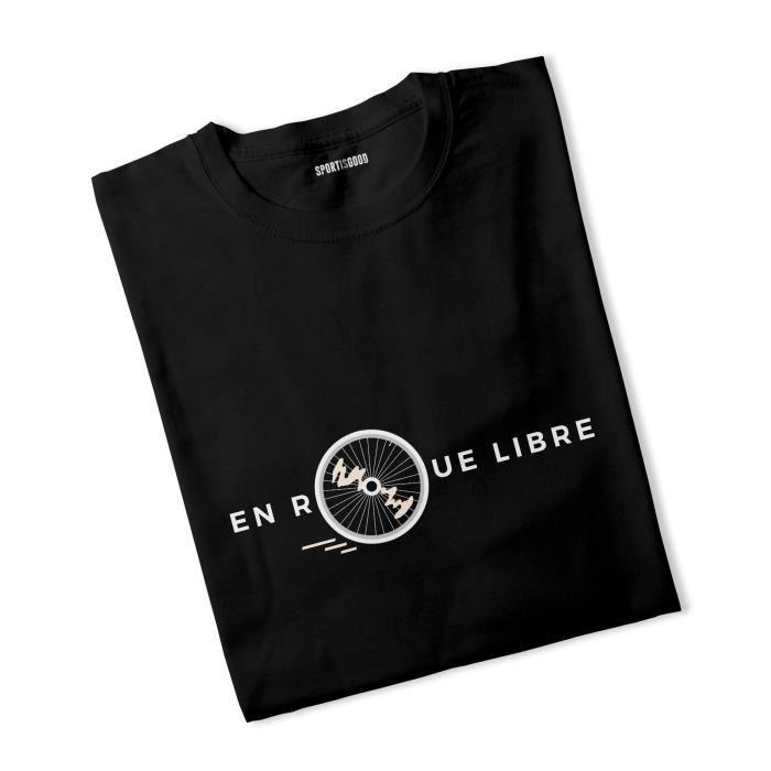 T-shirt garçon En roue libre