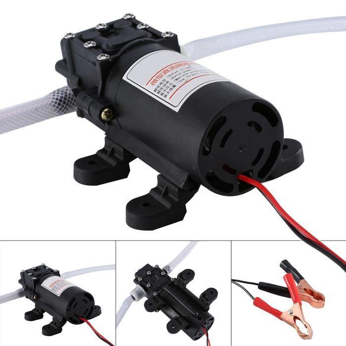 VGEBY Pompe a vidange d'huile moteur par aspiration 12V Pompe d'extraction d'huile liquide d'automobile HB034 Rentable -YES