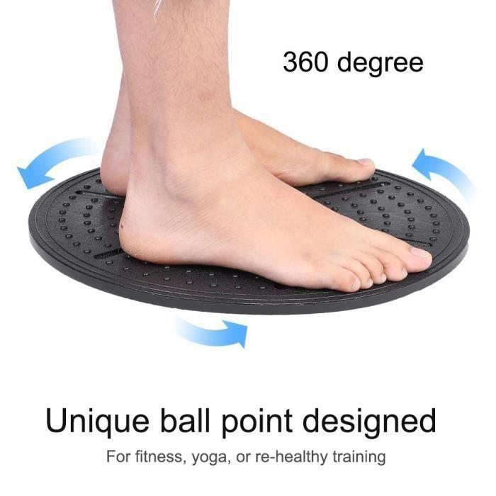 Balance Board Plateau d'équilibre Pour Gym Fitness Yoga Physiothérapie Exercice--Rose Vie