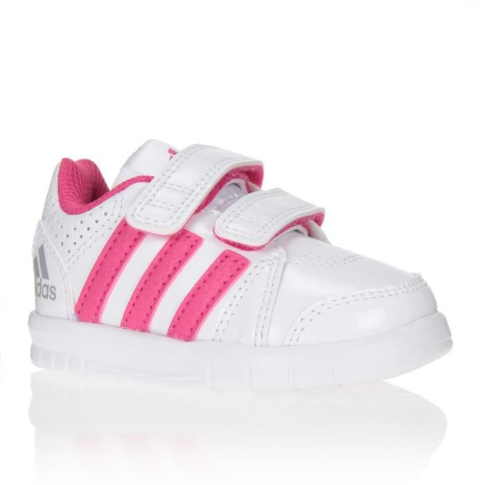 d22c1ef6d1424 ADIDAS PERFORMANCE Baskets LK Trainer 7 Chaussures Bébé Fille Blanc ...