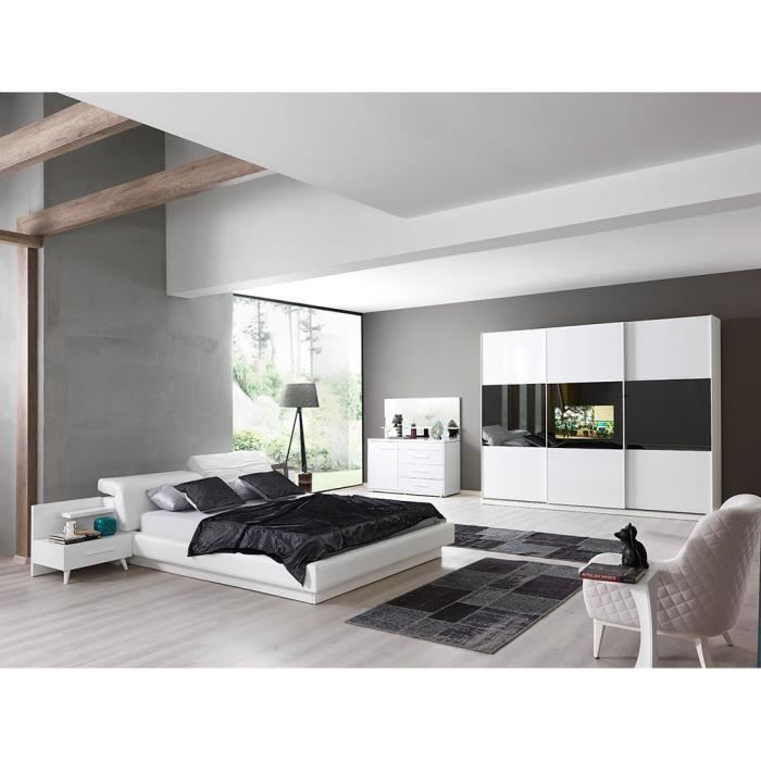 chambre crea compl te avec tv int gr e achat vente chambre compl te chambre crea compl te. Black Bedroom Furniture Sets. Home Design Ideas