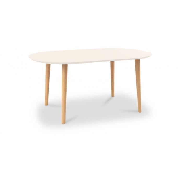 Table manger ovale bois achat vente table manger - Table a manger ovale ...