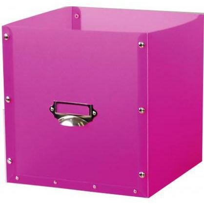 panier de rangement en plastique module fuchsia achat. Black Bedroom Furniture Sets. Home Design Ideas