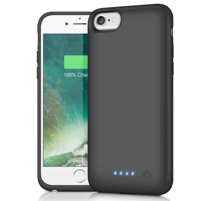 hetp coque batterie pour iphone 6 6s 7 8 6000 mah