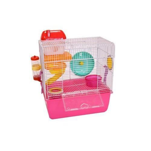 liberta libra cage hamster 38 x 34 x 23 cm taille s. Black Bedroom Furniture Sets. Home Design Ideas