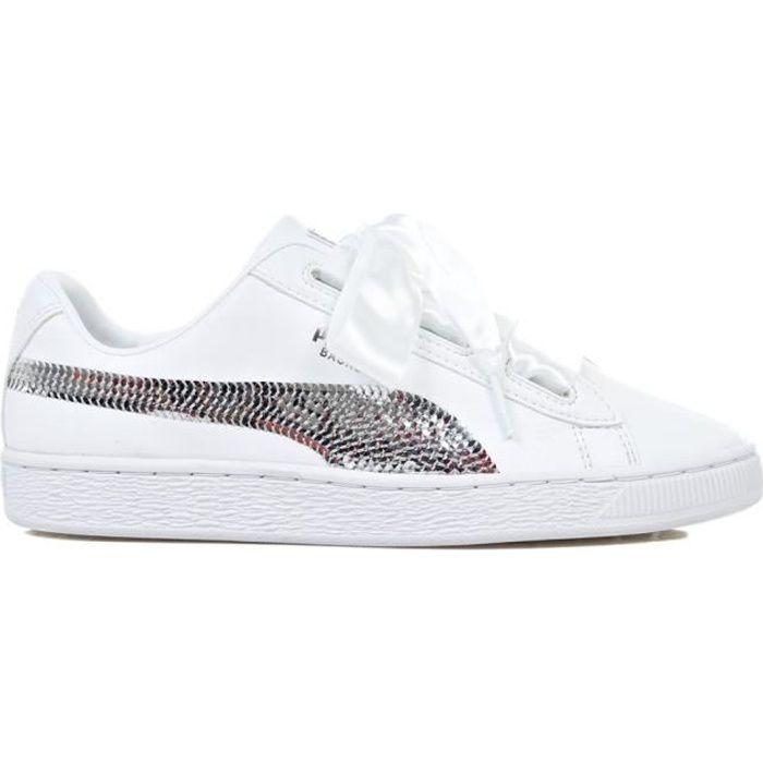 puma chaussures heart