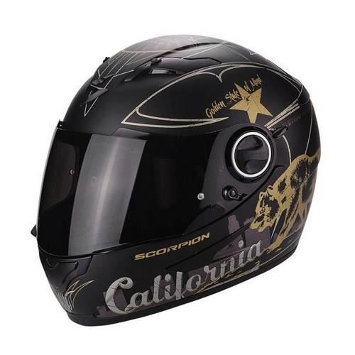 SCORPION Casque Integral Exo 490 Golden State