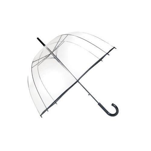 Ouverture Automatique SMATI Parapluie Liseret Floral Femme Dentelle Fleur Couleur Dome Transparent