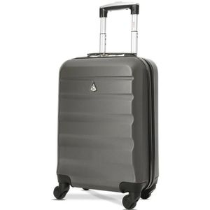 VALISE - BAGAGE Aerolite ABS Bagage Cabine Bagage à Main Valise Ri