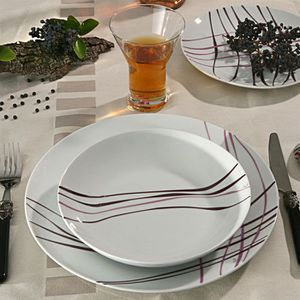 service de table assiettes achat vente service de table assiettes cdiscount. Black Bedroom Furniture Sets. Home Design Ideas