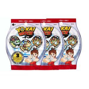 ACCESSOIRE DE JEU Sachets de 3 médailles Yo-Kai Watch - x3