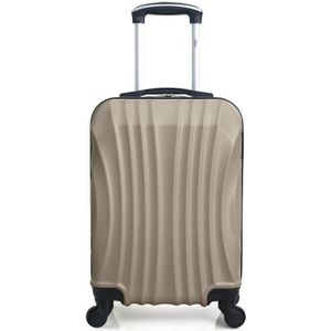VALISE - BAGAGE HERO – VALISE CABINE   ABS – 50cm – 4 roues – MOSC