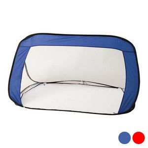 CAGE DE FOOTBALL Cage de Foot Pliable Nylon 143115 (Bleu)