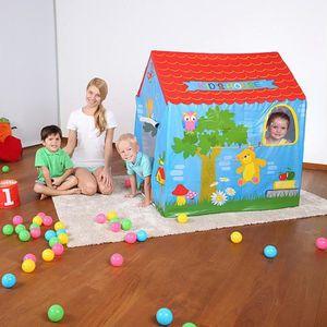 MAISONNETTE EXTÉRIEURE Maisonnette enfants toile plastique 102x76x114 cm.