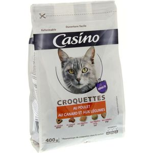 CROQUETTES Croquettes pour chat Poulet canard légumes 400 g
