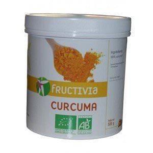 EPICE - HERBE Curcuma bio Fructiva Poids net : 500g /