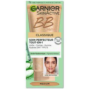 FOND DE TEINT - BASE GARNIER-Skin Active Bb Crème Classique Teinte Medi