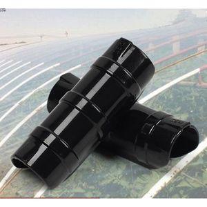 PORTE-PLANTE Lot de 10 Serre châssis tube Tube et Clip Film Cla