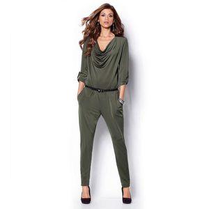 COMBINAISON Combinaison pantalon femme manches 3/4 VENCA