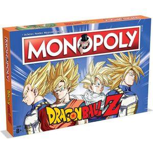 JEU SOCIÉTÉ - PLATEAU MONOPOLY - Dragon Ball Z - Jeu de societé - Versio