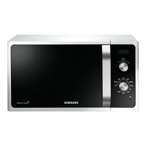 MICRO-ONDES Samsung MG23F301ECW Micro-ondes 23 L Noir, Blanc