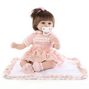 POUPÉE 45cm nouveau né bébé poupées Bebe Reborn Menina en