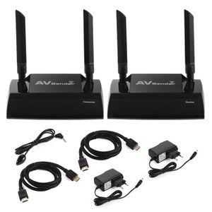 Récepteur audio 100m HD sans fil HDMI Extender 2.4G - 5G Dual Band
