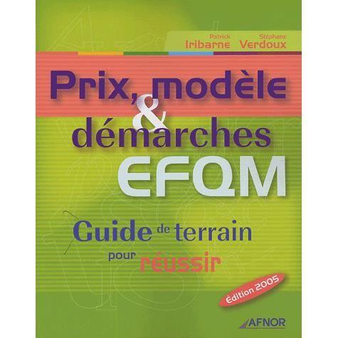 LIVRE GESTION Prix, modèle & démarches EFQM
