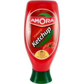 AMORA Ketchup Soupple Nature - 850G