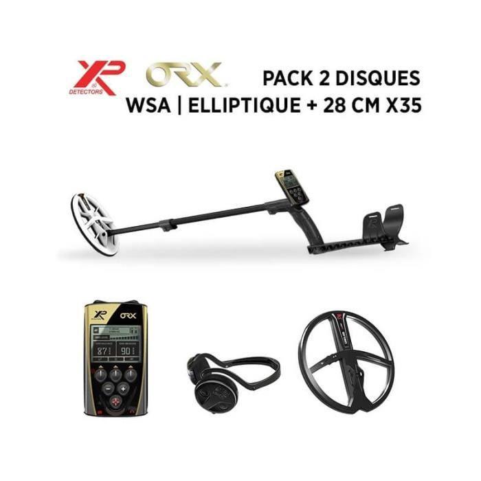 Detecteur de metaux XP ORX - Elliptique WSA - 2 disques
