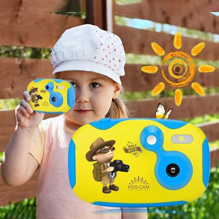 【Caméra enfant】Appareil photo numérique pour enfants Appareil photo jouet mignon pour enfants Écran de 1,44 pouces Creative DIY