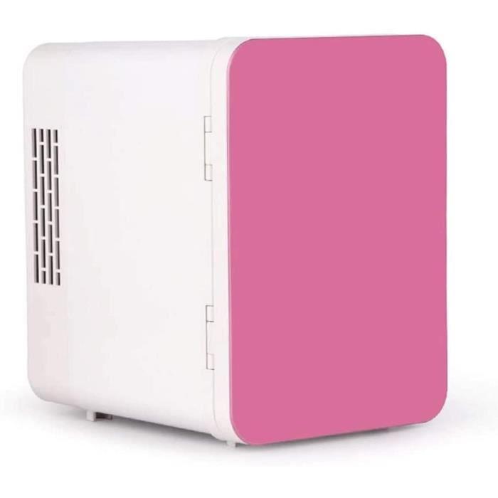 Qinmo 5 litres Compact Porte simple Réfrigérateur et congélateur, mini-réfrigérateur, Congélateur vertical Petit Réfrigérateur Doubl