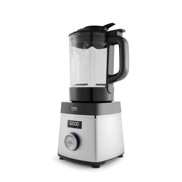 Beko tout chef smm888bx Robot de cuisine Compact, 800 W, 1,75 litres, inox-noir