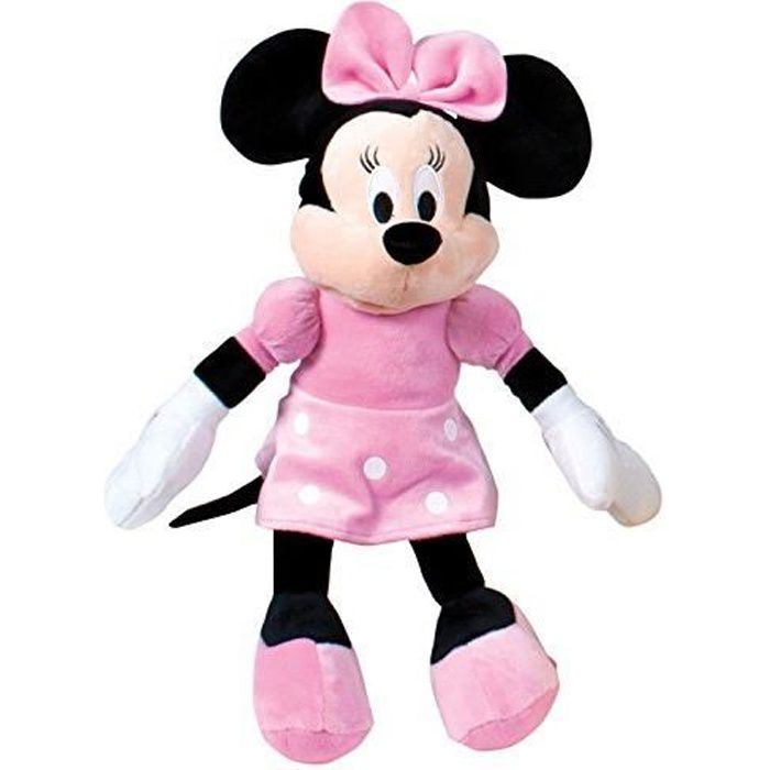Famosa 760011896 Peluche Minnie Mouse Couleur Rose 760011896