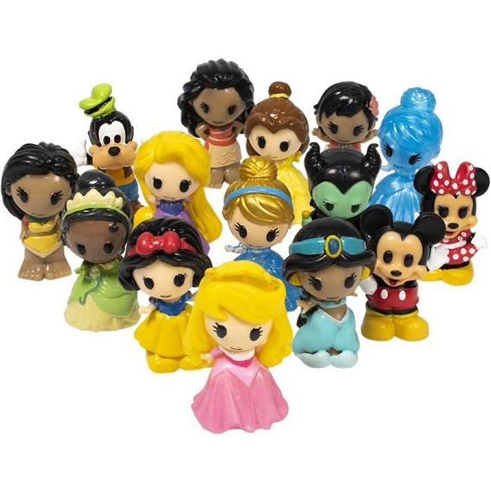 SPLASH TOYS - Ooshies - Pack XL de 6 figurines Disney