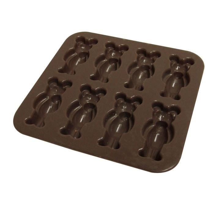YOKO DESIGN Moule à chocolat oursons