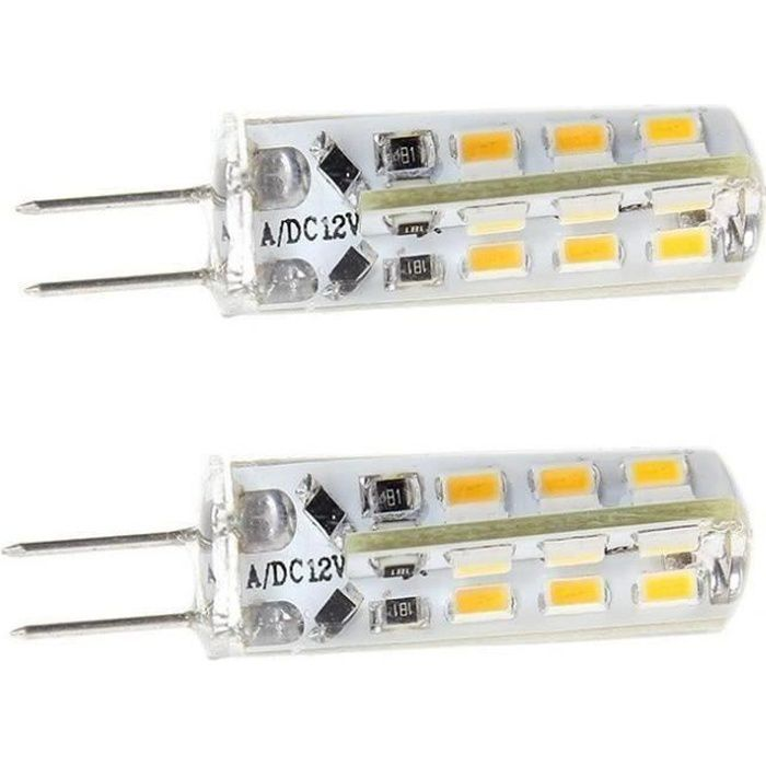 2 AMPOULE HP24 A 24 LED SMD BLANC 6000K FEUX DE JOUR PEUGEOT 3008 5008 CITROEN C5