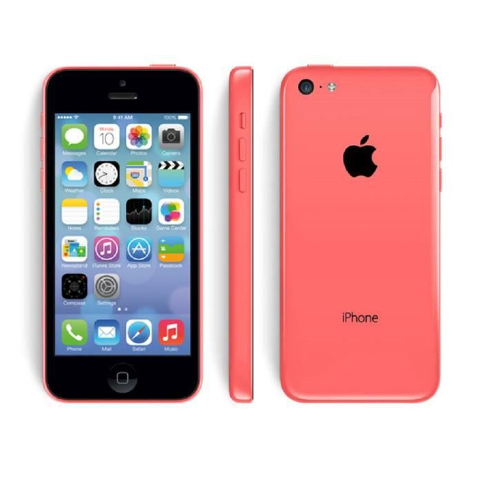 smart apple iphone 5c 16go d bloqu reconditionn neuf. Black Bedroom Furniture Sets. Home Design Ideas