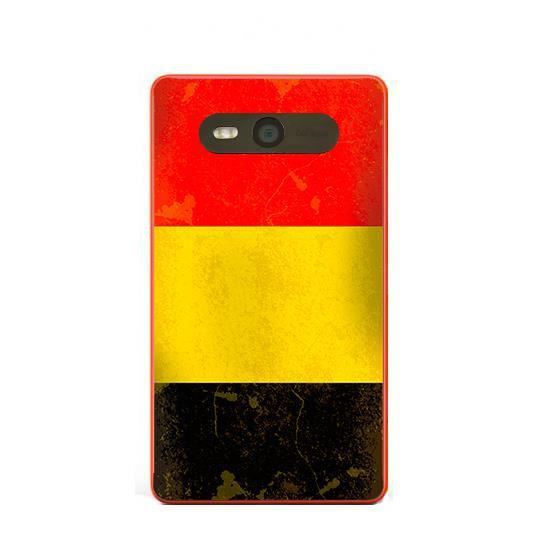 coque nokia lumia 820 drapeau belgique vintage achat. Black Bedroom Furniture Sets. Home Design Ideas