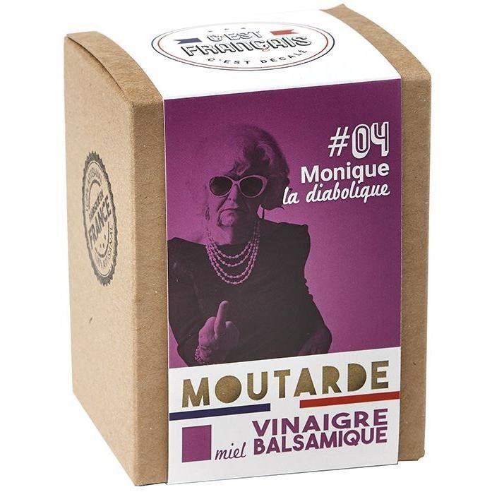 MOUTARDE Moutarde miel vinaigre balsamique 190g