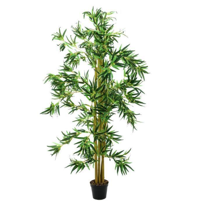 FLEUR ARTIFICIELLE Bambou artificiel avec de nombreuses cannes de bam