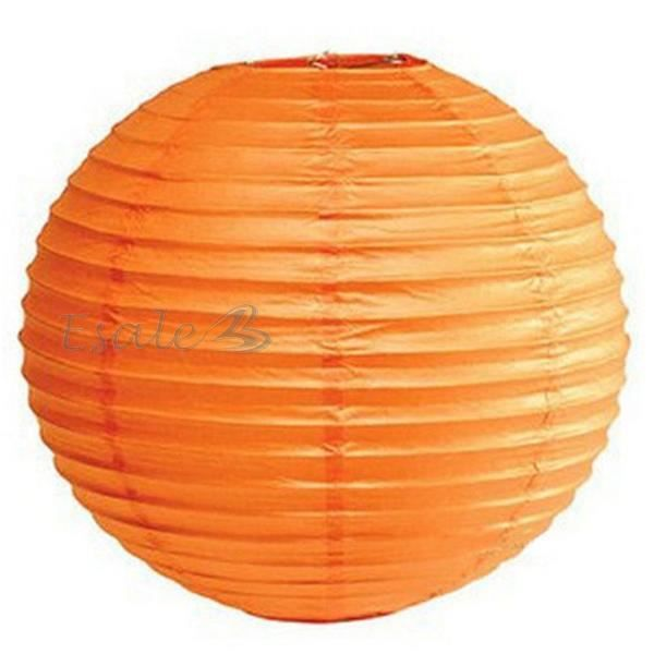 lampion lanterne de papier orange ballon dia 30cm d co ma son mariage f te achat vente. Black Bedroom Furniture Sets. Home Design Ideas