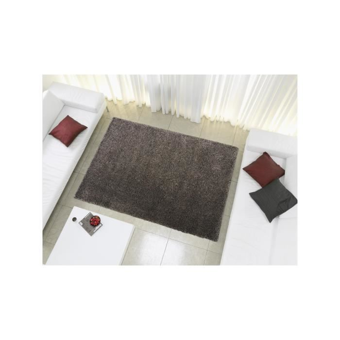 benuta tapis poils longs coco gris 80x150 cm achat vente tapis soldes d t cdiscount. Black Bedroom Furniture Sets. Home Design Ideas