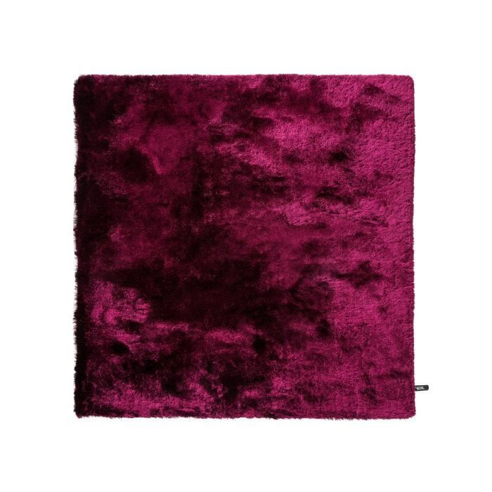 benuta tapis poils longs whisper mauve 60x60 cm achat vente tapis cdiscount. Black Bedroom Furniture Sets. Home Design Ideas